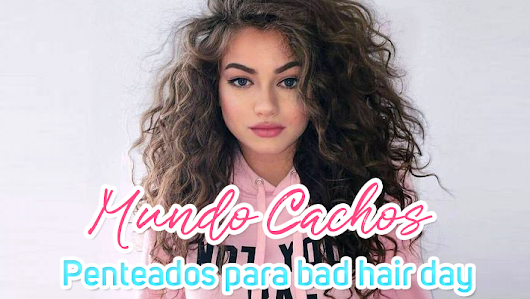Cachos: Penteados para bad hair day