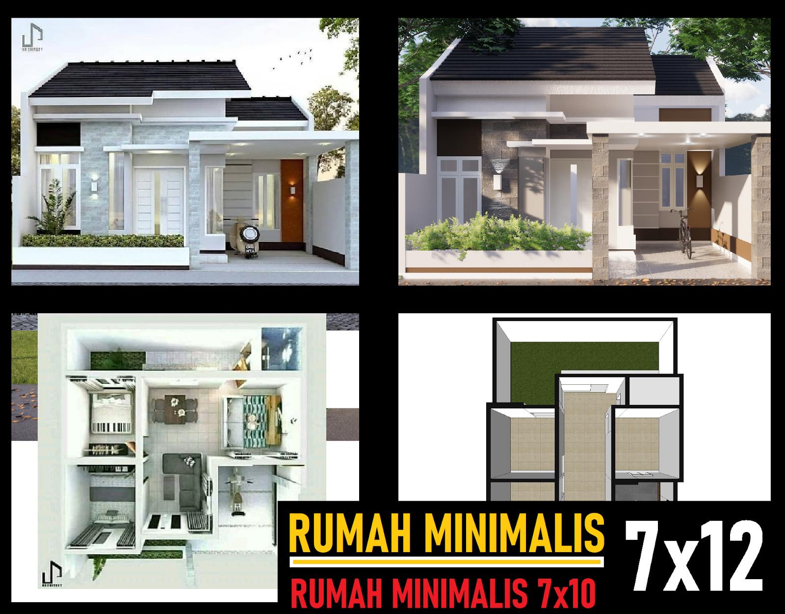 Desain Rumah Minimalis 3 Kamar Vs 2 Kamar Dilahan Sempit - DESAIN RUMAH  MINIMALIS