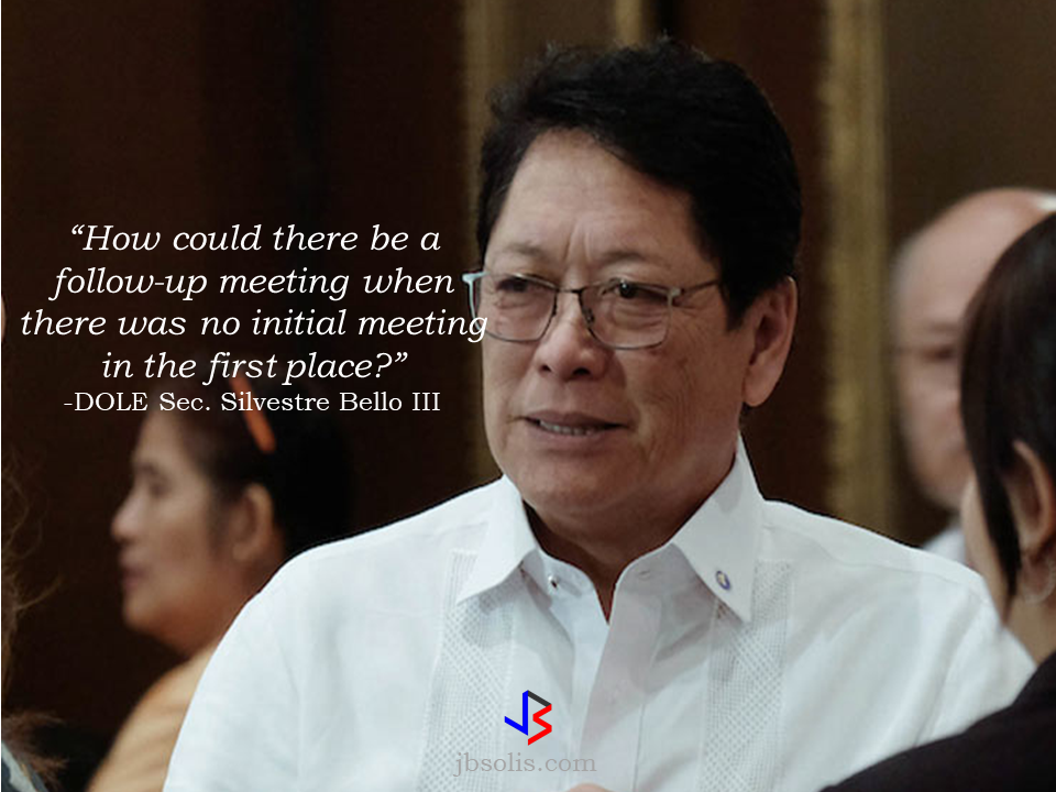 "Labor Secretary Silvestre Bello III has denied being in talks with Chinese officials about a plan to hire  domestic workers from the Philippines.  In a phone interview with The SUN, a Filipino publication based in Hong Kong, Bello said that he haven't had any talks with Chinese officials regarding this.  ""I haven't talked to anyone from China, much less agreed to meet with anyone next month on this,"" Secretary Bello said.  He also said that he is not aware that anyone from the Chinese embassy in the Philippines visited his Undersecretary, Dominador Say, disclosing such plan. It is not in his very knowledge that there is a plan for a follow-up meeting next month.  Philippine Ambassador to China Chito Sto. Romana said there had been indications that China plans to open its door to Filipino domestic workers, but, he was not aware about what Undersecretary Say disclosed to various news publications in Manila, including Philippine Star. ""I am not in a position to confirm this report in the Philippine Star, talks are still exploratory at this stage, but there are indications that Chinese authorities are interested in opening the door somewhat to Pinoy household service workers (HSW). Shanghai & Guangzhou authorities have recently announced an experiment to grant work visas to Pinoy HSWs, these are pilot projects that could pave the way to more work visas for Pinoy,""  Sto. Romana said.   The statement from Undersecretary Say recently stirred up confusion even in the news agencies. The Philippine Star quoted Say as saying that the salary to be given was Php100,000 (US$1,980), while on the report published by the Manila Bulletin  said that China will be hiring 100,000 workers every month with possible P50,000 salary. Usec. Say  later told the South China Morning Post that the reported salary offer was far from accurate.  However, he stood by his original statement that he discussed the plan with Chinese embassy officials. Say also said that China wants to hire 100,000 foreign domestic workers, but not all would be Filipinos. Further, he said the scheme will be put in place in five major Chinese cities, including the capital, Beijing, and Shanghai. His statements were immediately dismissed by the acting head of the Philippine Overseas Employment Administration (POEA), further causing confusion.  ABS-CBN interview with, Undersecretary Bernardo Olalia said it was not true that there were 100,000 jobs available for Filipino domestic workers in China. The only jobs readily available at the moment are only for teachers and call center agents.   These conflicting statements from his two undersecretaries prompted Secretary Bello to schedule a meeting on Aug. 3, to try and sort out the issue. Secretary Bello said that he don't know why his two undersecretaries issued conflicting statements but he reiterated that what was clear was that he had not met with anyone from the Chinese government on the reported plan. Say's statements caused clamor among domestic workers in Hong Kong, saying that if the reported salary was true, they would prefer working on the mainland. Most domestic workers are known to get between 6,000 and 7,000 yuan a month, which is far higher than the minimum allowable wage of HK$4,310 a month paid to their counterparts in Hong Kong. Guangdong province and Shanghai have recently reportedly allowed foreigners to hire domestic workers from overseas. However, it is not clear how many Filipinos have been hired under this scheme. After the meeting between DOLE officials, the public, especially the OFWs will hopefully be enlightened about the issue. Source: The Sun HK  Read More:  China's plans to hire Filipino household workers to their five major cities including Beijing and Shanghai, was reported at a local newspaper Philippine Star. it could be a big break for the household workers who are trying their luck in finding greener pastures by working overseas  China is offering up to P100,000  a month, or about HK$15,000. The existing minimum allowable wage for a foreign domestic helper in Hong Kong is  around HK$4,310 per month.  Dominador Say, undersecretary of the Department of Labor and Employment (DOLE), said that talks are underway with Chinese embassy officials on this possibility. China's five major cities, including Beijing, Shanghai and Xiamen will soon be the haven for Filipino domestic workers who are seeking higher income.  DOLE is expected to have further negotiations on the launch date with a delegation from China in September.   according to Usec Say, Chinese employers favor Filipino domestic workers for their English proficiency, which allows them to teach their employers' children.    Chinese embassy officials also mentioned that improving ties with the leadership of President Rodrigo Duterte has paved the way for the new policy to materialize.  There is presently a strict work visa system for foreign workers who want to enter mainland China. But according Usec. Say, China is serious about the proposal.   Philippine Labor Secretary Silvestre Bello said an estimated 200,000 Filipino domestic helpers are  presently working illegally in China. With a great demand for skilled domestic workers, Filipino OFWs would have an option to apply using legal processes on their desired higher salary for their sector. Source: ejinsight.com, PhilStar Read More:  The effectivity of the Nationwide Smoking Ban or  E.O. 26 (Providing for the Establishment of Smoke-free Environment in Public and Enclosed Places) started today, July 23, but only a few seems to be aware of it.  President Rodrigo Duterte signed the Executive Order 26 with the citizens health in mind. Presidential Spokesperson Ernesto Abella said the executive order is a milestone where the government prioritize public health protection.    The smoking ban includes smoking in places such as  schools, universities and colleges, playgrounds, restaurants and food preparation areas, basketball courts, stairwells, health centers, clinics, public and private hospitals, hotels, malls, elevators, taxis, buses, public utility jeepneys, ships, tricycles, trains, airplanes, and  gas stations which are prone to combustion. The Department of Health  urges all the establishments to post ""no smoking"" signs in compliance with the new executive order. They also appeal to the public to report any violation against the nationwide ban on smoking in public places.   Read More:          ©2017 THOUGHTSKOTO www.jbsolis.com SEARCH JBSOLIS, TYPE KEYWORDS and TITLE OF ARTICLE at the box below Smoking is only allowed in designated smoking areas to be provided by the owner of the establishment. Smoking in private vehicles parked in public areas is also prohibited. What Do You Need To know About The Nationwide Smoking Ban Violators will be fined P500 to P10,000, depending on their number of offenses, while owners of establishments caught violating the EO will face a fine of P5,000 or imprisonment of not more than 30 days. The Department of Health  urges all the establishments to post ""no smoking"" signs in compliance with the new executive order. They also appeal to the public to report any violation against the nationwide ban on smoking in public places.          ©2017 THOUGHTSKOTO  Dominador Say, undersecretary of the Department of Labor and Employment (DOLE), said that talks are underway with Chinese embassy officials on this possibility. China's five major cities, including Beijing, Shanghai and Xiamen will soon be the destinfor Filipino domestic workers who are seeking higher income.     The effectivity of the Nationwide Smoking Ban or  E.O. 26 (Providing for the Establishment of Smoke-free Environment in Public and Enclosed Places) started today, July 23, but only a few seems to be aware of it.  President Rodrigo Duterte signed the Executive Order 26 with the citizens health in mind. Presidential Spokesperson Ernesto Abella said the executive order is a milestone where the government prioritize public health protection.    The smoking ban includes smoking in places such as  schools, universities and colleges, playgrounds, restaurants and food preparation areas, basketball courts, stairwells, health centers, clinics, public and private hospitals, hotels, malls, elevators, taxis, buses, public utility jeepneys, ships, tricycles, trains, airplanes, and  gas stations which are prone to combustion. The Department of Health  urges all the establishments to post ""no smoking"" signs in compliance with the new executive order. They also appeal to the public to report any violation against the nationwide ban on smoking in public places.   Read More:          ©2017 THOUGHTSKOTO www.jbsolis.com SEARCH JBSOLIS, TYPE KEYWORDS and TITLE OF ARTICLE at the box below Smoking is only allowed in designated smoking areas to be provided by the owner of the establishment. Smoking in private vehicles parked in public areas is also prohibited. What Do You Need To know About The Nationwide Smoking Ban Violators will be fined P500 to P10,000, depending on their number of offenses, while owners of establishments caught violating the EO will face a fine of P5,000 or imprisonment of not more than 30 days. The Department of Health  urges all the establishments to post ""no smoking"" signs in compliance with the new executive order. They also appeal to the public to report any violation against the nationwide ban on smoking in public places. ©2017 THOUGHTSKOTO www.jbsolis.com SEARCH JBSOLIS, TYPE KEYWORDS and TITLE OF ARTICLE at the box below"