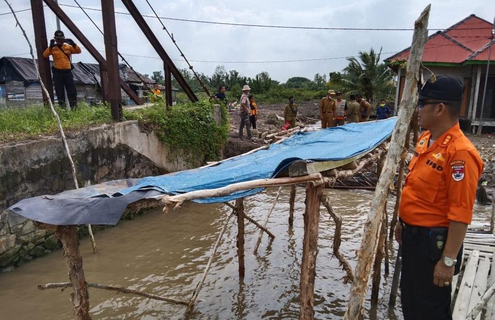 Analisis BPBD Mesuji, Enam Desa di Kecamatan Wayserdang Rawan Puting Beliung