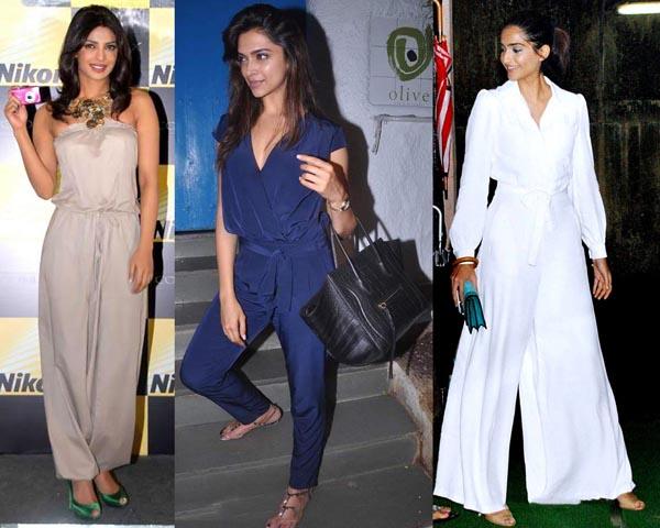 Bollywood Celebs Stylish Ways To Wear Jumpsuits Look Beautiful