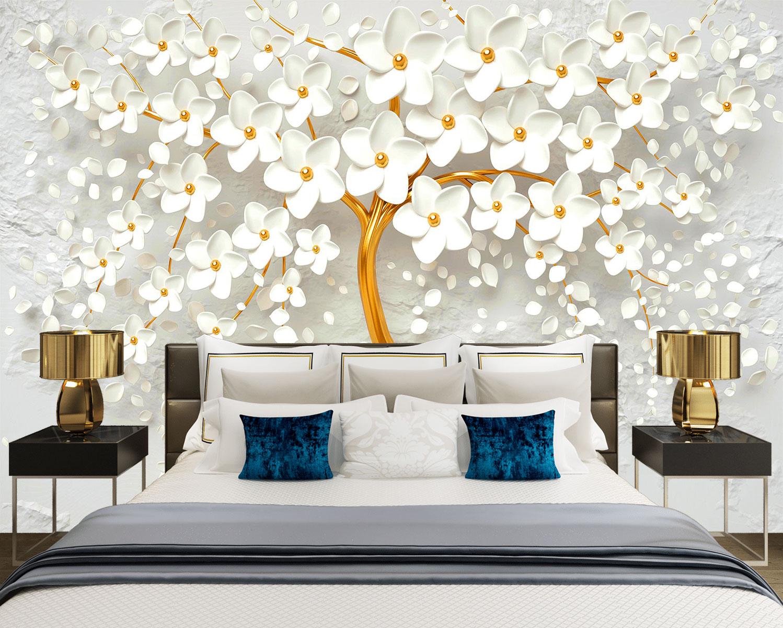 Tranh Dán Tường 3D Phòng Ngủ Đẹp N3