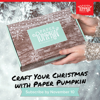 Stampin' Up!'s November Paper Pumpkin kit - Winter Wonders - sign up by November 10 with Nicole Steele