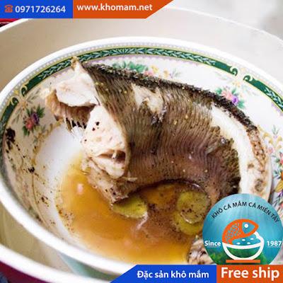 Chưng cách thủy thịt cá lóc