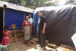 HILMI - FPI NTB Serahkan Rumah Hunian Sementara Untuk Nenek Jumenah Di Lombok Timur