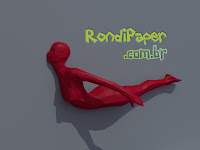 pilates, papercraft, blender rondipaper