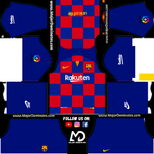 FC Barcelona Kits url 19-20 for Dream League Soccer 2019 - Dls Kits
