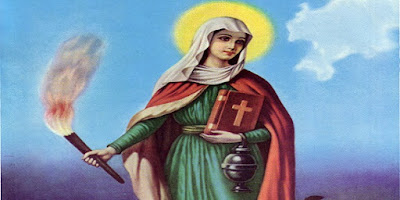 imagem de Santa Marta de Betânia