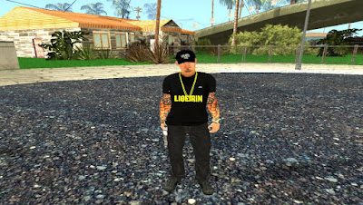 SKIN LIGEIRINHO para GTA San Andreas , GTA SA , GTA San