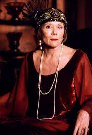 Diana Rigg played the eccentric detective in a BBC TV series