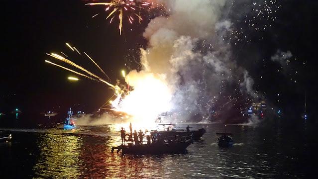 """""""Μιαούλεια 2021"""": Παρουσία της Προέδρου της Δημοκρατίας κορυφώθηκαν στην Ύδρα οι εορταστικές εκδηλώσεις"""
