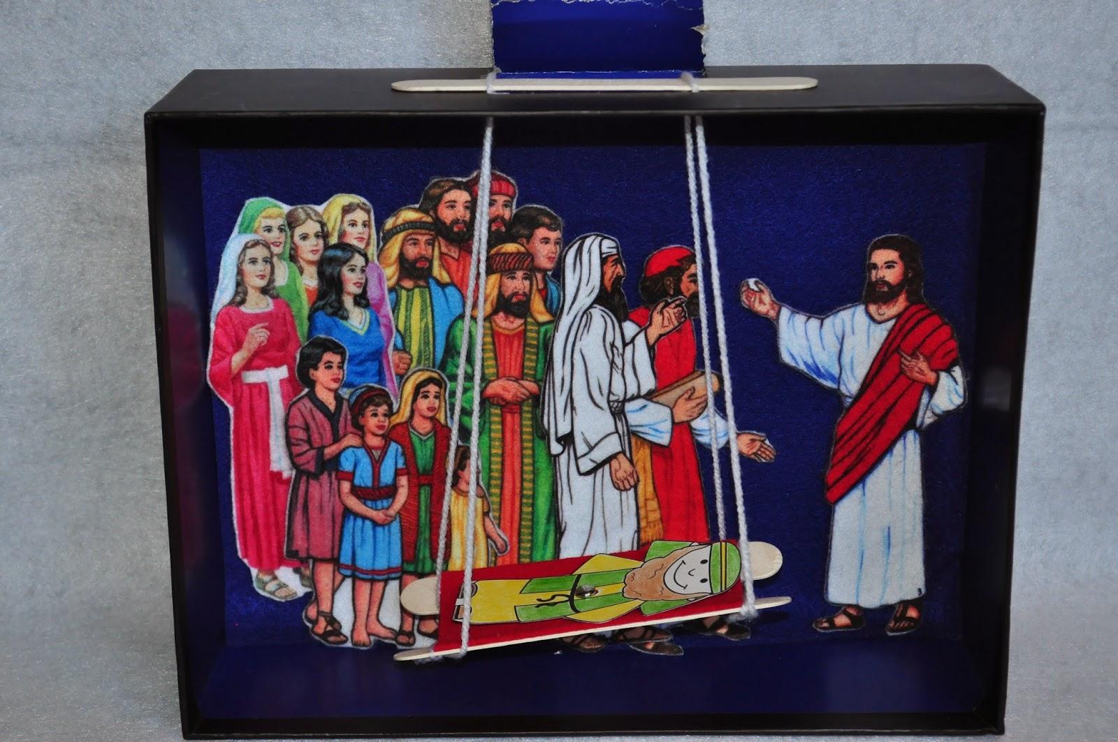 Faith Sprouts Jesus Heals A Paralyzed Man
