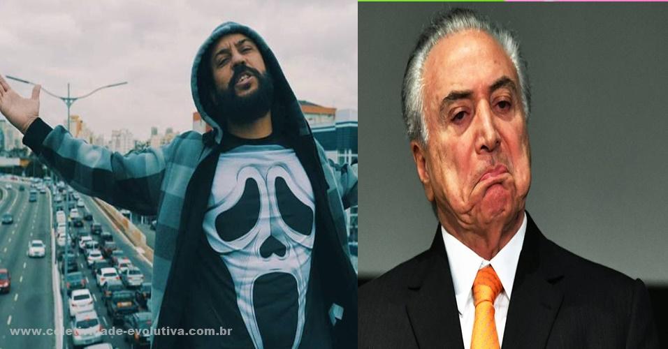 "GABRIEL PENSADOR- ""TO FELIZ MATEI O PRESIDENTE"" MICHEL TEMER - COLETIVISMO OLIGÁRQUICO"