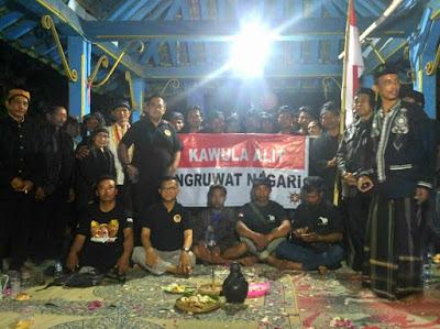 Dari Solo ke Jakarta Jalan Kaki Demi Meruwat Negeri