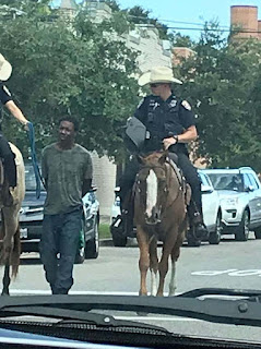 Texas cops who led a mentally ill black man through the street by a rope while on horseback will NOT be charged with crimes