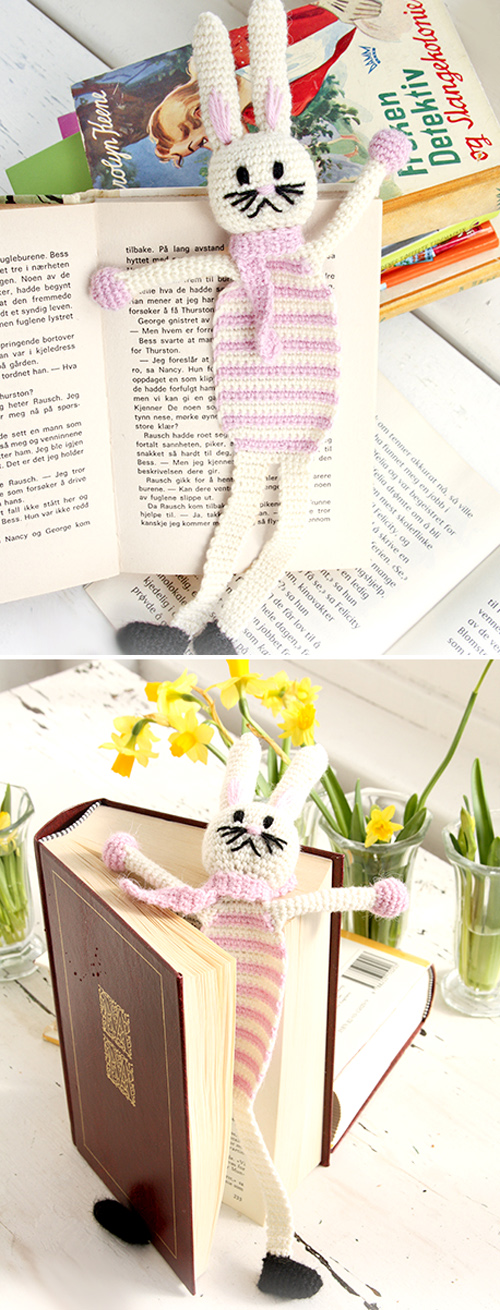 Bella, the Book Bunny - Free Pattern