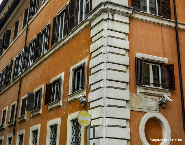 Beco do Dilema, Via Giulia, Roma