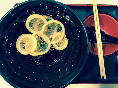 Healthy Soba IKI, lemon soba