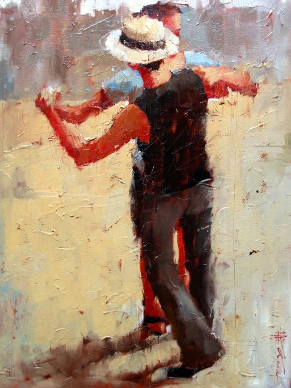 Novos Movimentos lll - Andre Kohn e suas pinturas - Impressionismo Figurativo