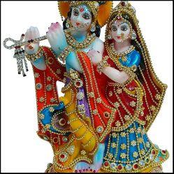 Radha Krishna Murti Decoration