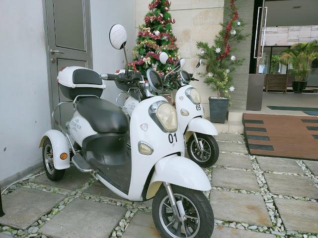 Scooter matic holiday villa
