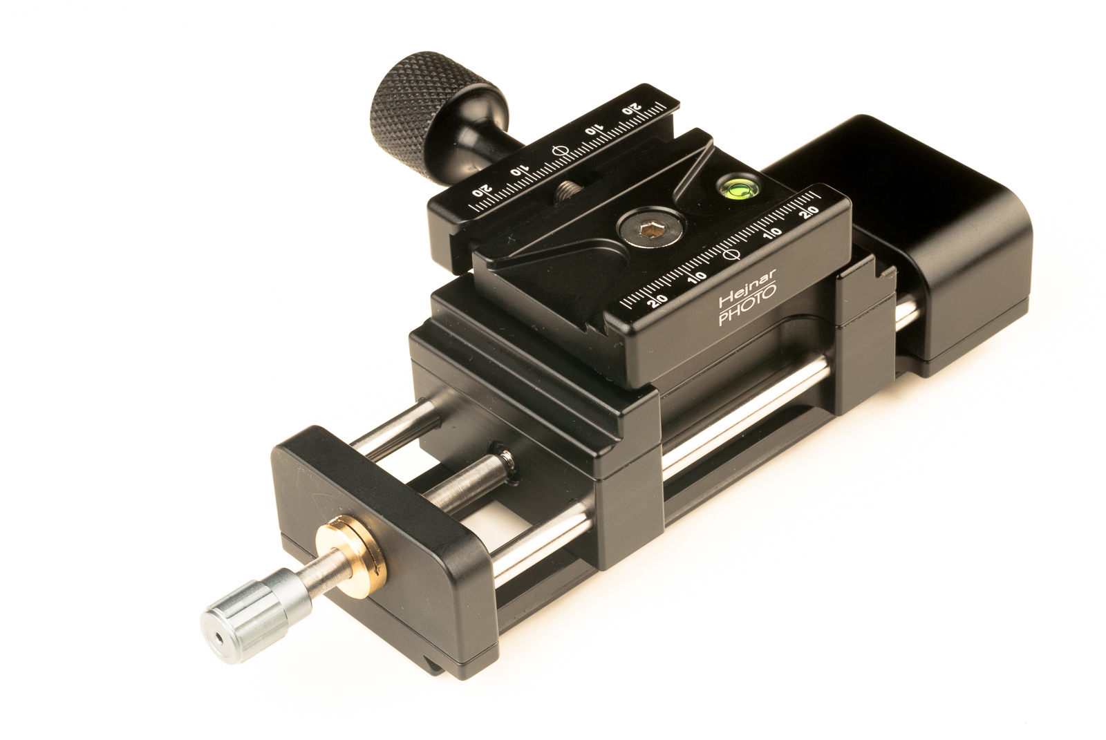 Hejnar PHOTO MS4-100-1 Macro Rail - F72b QR clamp reorientation