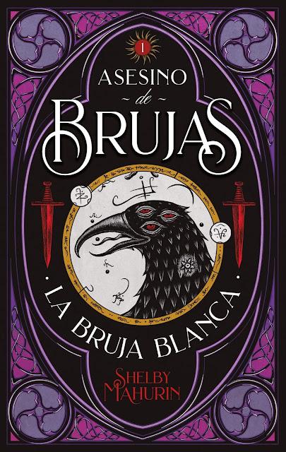 Asesino de brujas, portada del libro