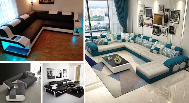 23 inspiradores sofás de sala y diseños de muebles