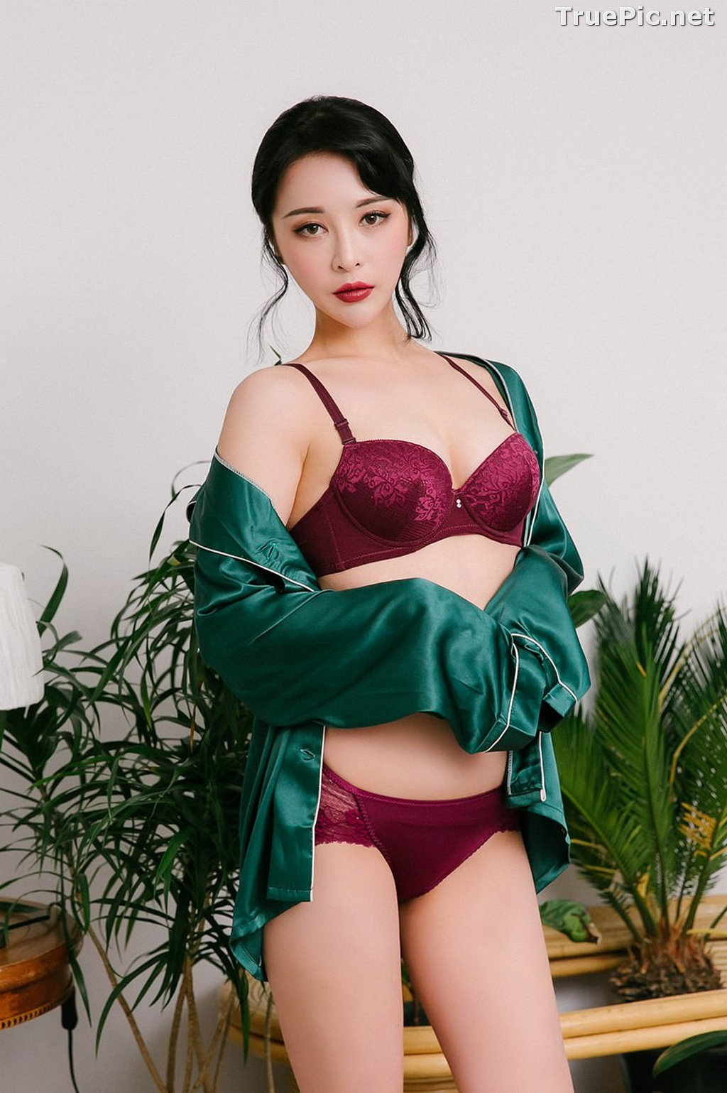 Image Ryu Hyeonju - Korean Fashion Model - Pijama and Lingerie Set - TruePic.net - Picture-6