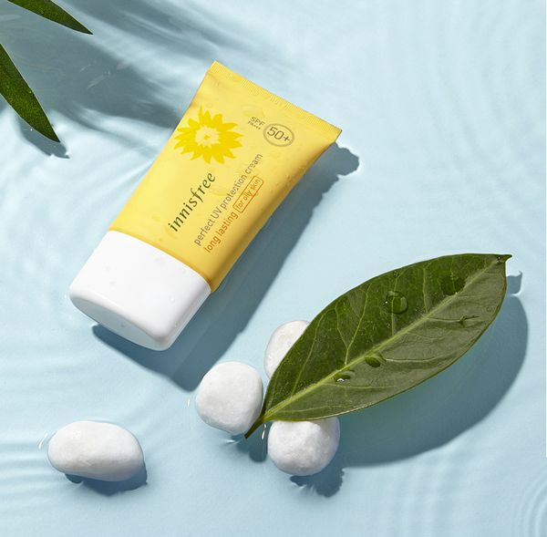 Innisfree Perfect UV Protection Cream Long Lasting/ For Dry Skin