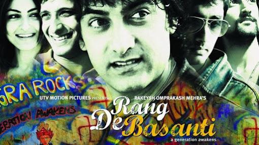 Rang De Basanti - Best Patriotic Bollywood Movies of all Time