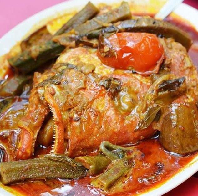 resepi kari kepala ikan  sedap mabeles  makan susah nak lupa Resepi Ikan Jenahak Masak Pedas Enak dan Mudah