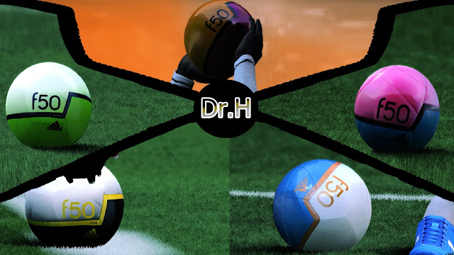 PES 2017 Adidas F50 & Adidas Mi Ball dari DR.H