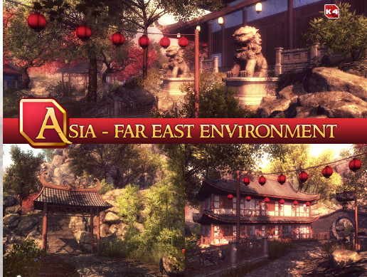 Asia - Far East Environment v1 0 - Free Download - Unity