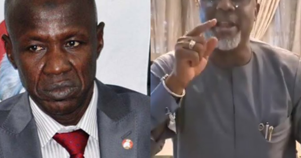 Senator Dino Melaye Releases New Song On Suspended EFCC Acting Chairman Magu..