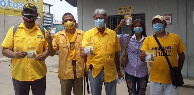 PJ, EC Y MPV RESPALDAN LA CANDIDATURA DE ALFONSO MARQUINA A LA GOBERNACIÓN DE LARA