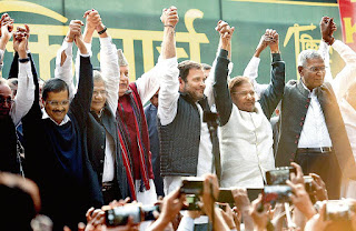 Arvind Kejriwal's first reaction to the grand victory, he said - Delhi gave birth to new politics, we will all work together