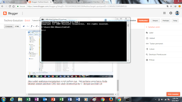 tutorial cmd, hacking dengan cmd, deface dengan cmd , tutorial cmd