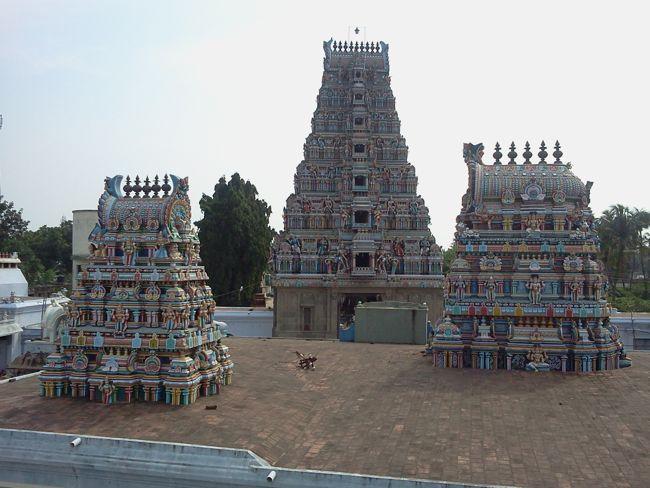 Towers Of Sri Kovur Sundareswarar Temple