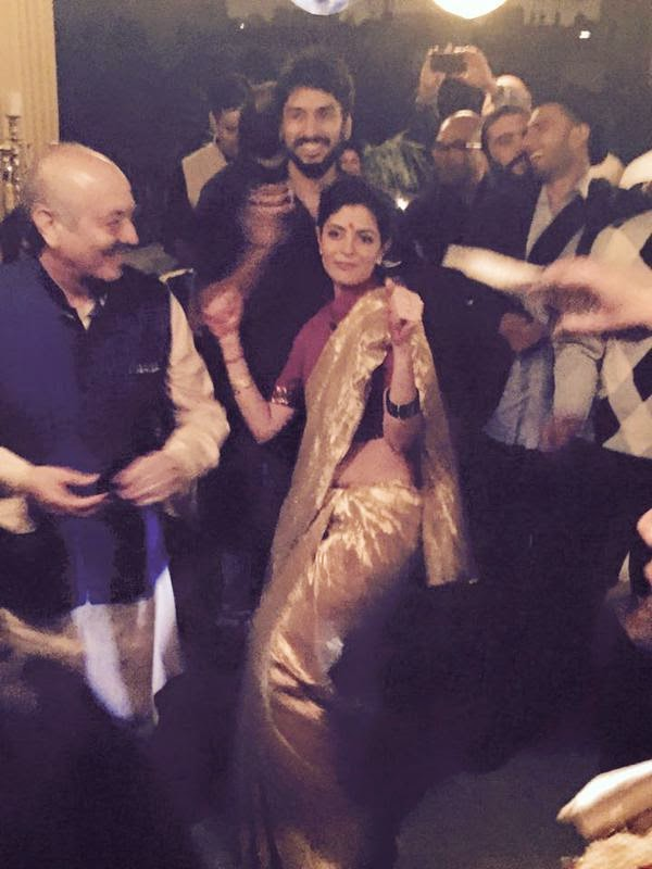 Ranveer and Deepika attend the friend's wedding