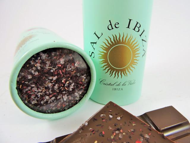 Chocolat à la fleur de sel sal de ibiza