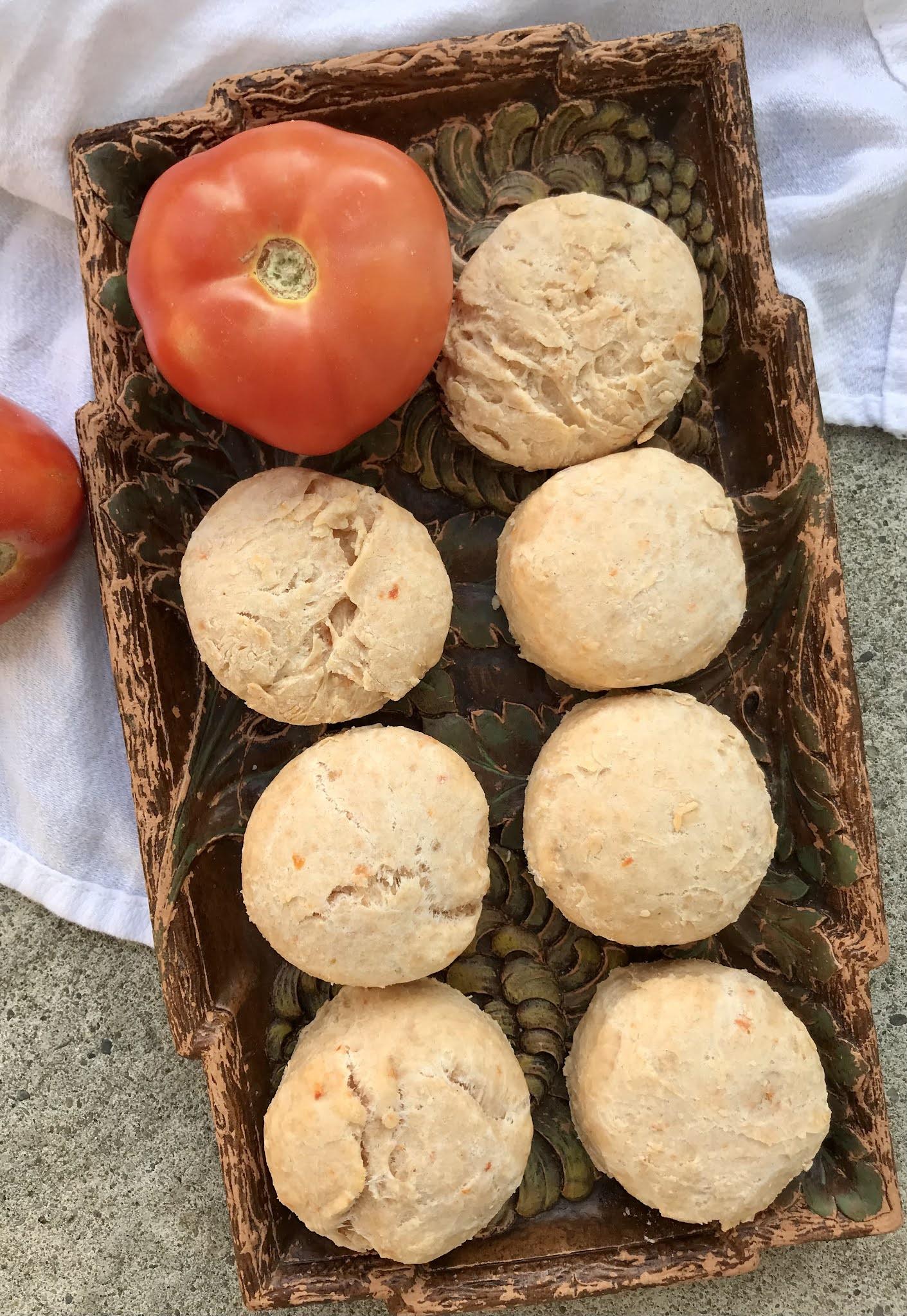 Tomato Parmesan Buttermilk Biscuits