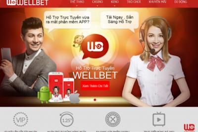 Chọn kèo cá cược trực tuyến Wellbet chuẩn xác