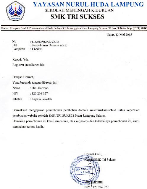 Contoh Surat Pernyataan Sekolah - Aneka Macam Contoh