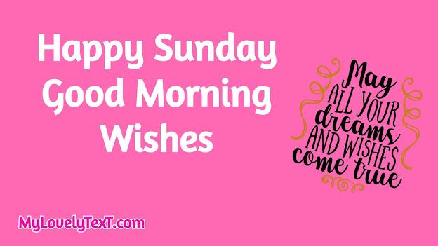 happy sunday wishes