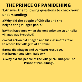 the prince of panidehing questions