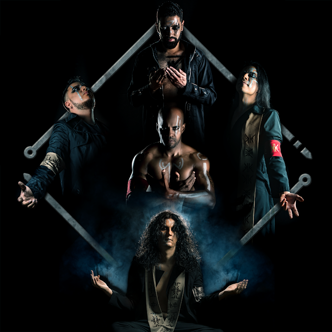 "Banda Primal Sinner promove novo álbum ""Dying Like The Sun In The West"""