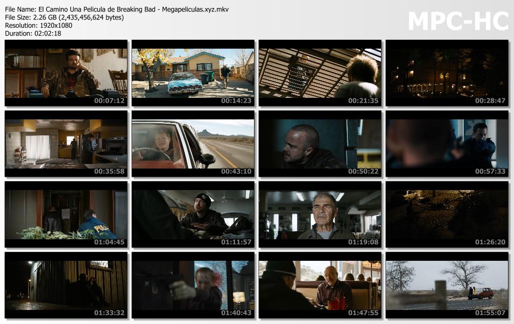 capturas pelicula El Camino Una película de Breaking Bad latino