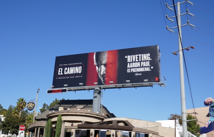 El Camino Breaking Bad FYC billboard