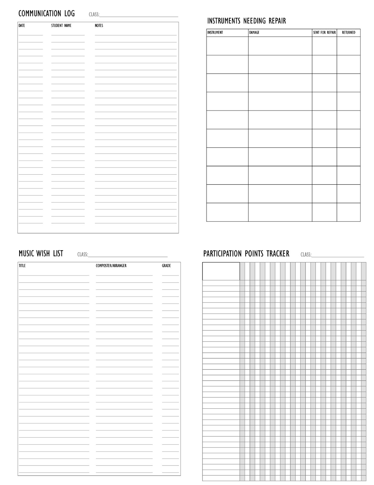 Orchestra Classroom Ideas Lesson Plan Template For Orchestra